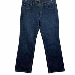 Talbots Petites Boot Cut Jeans Womens 10P